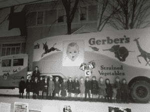 Gerber Baby Display in Museum