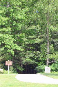 Freemont T & C trail at Oak Street