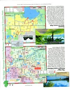 Edge & Town & Country Trail Map