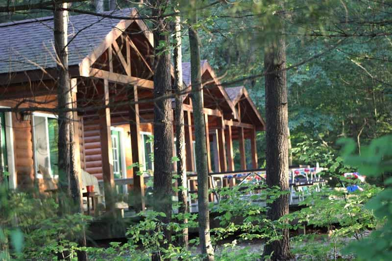 cabins at county park