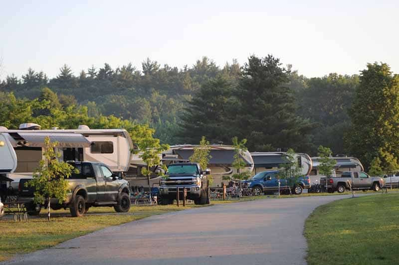 campers at county park