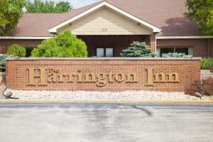 Harrington Inn sign