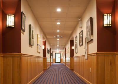Harrington hallway