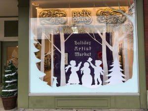 Artspalce exterior window display