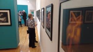 People browsing Dogwood Gallery