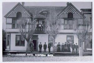 historic Hesperia hotel