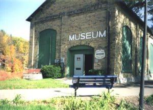 Historic museum exterior