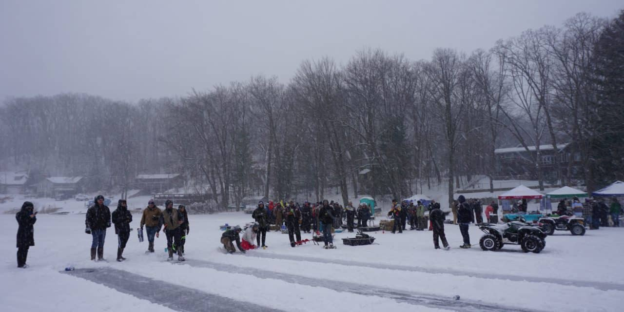 Dam to Dam Ice Fishing Tournament