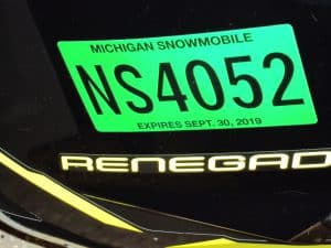 registration sticker