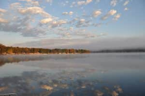 Newaygo County lake landscape