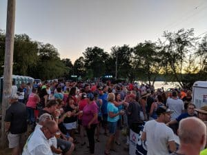 Crowds of people at Freedom Fest
