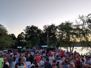 Freedom Fest at Sunset