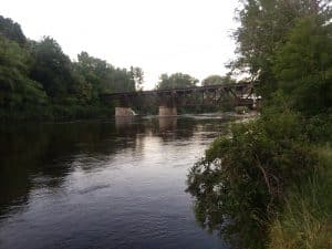 Newaygo Train Bridge