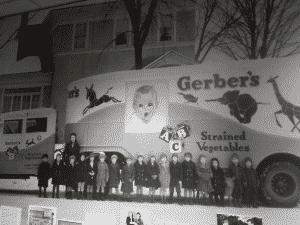 Gerber Baby Display in Museum