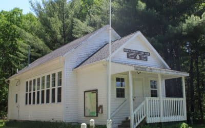 Birch Grove Schoolhouse Offers History, Comfort Along the North Country Trail