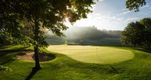 Hole on Pilgrim's Run Golf Course