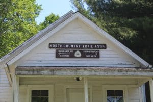 NCT Birch Grove Schoolhouse sign detail
