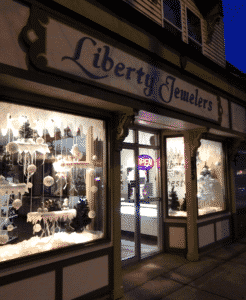 Liberty Jewelers storefront