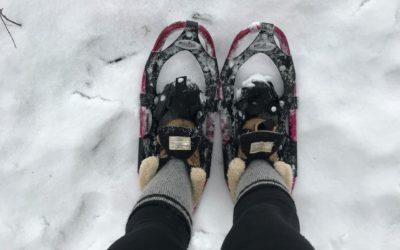 Snowshoe Adventure On The Dragon