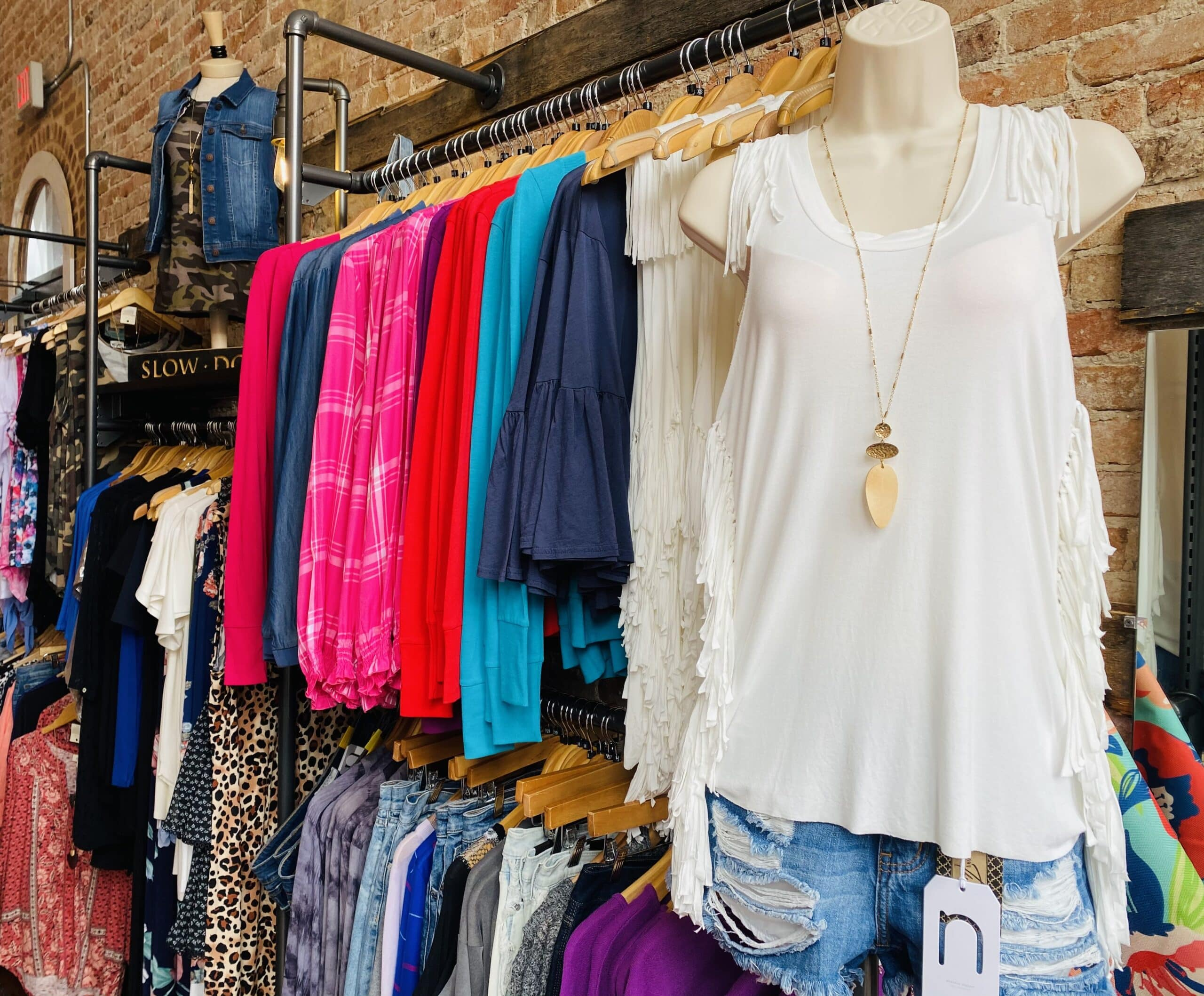 boutique clothing display