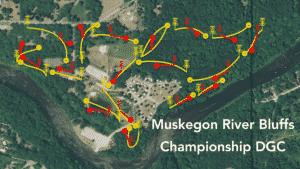 Muskegon Bluffs Map